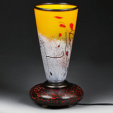 Solar Splash Lamp Prototype by Eric Bladholm (Art Glass Table Lamp)