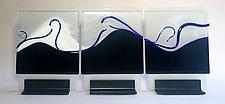 Oceana by Alicia Kelemen (Art Glass Sculpture)