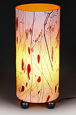 Zoloty Svet (Golden Glow) Lamp Prototype IV CFL Energy Saver Model by Eric Bladholm (Art Glass Table Lamp)