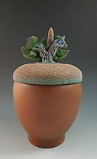 Acorn Urn by Nancy Y. Adams (Ceramic Vessel)