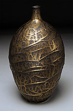 Bronze Urn by Nicholas Bernard (Ceramic Vessel)