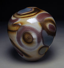 Vessel with Blue by Nicholas Bernard (Ceramic Vessel)