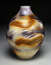 Topography Vessel by Nicholas Bernard (Ceramic Vessel)