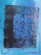 Portal by Sandra Humphries (Monotype Print)