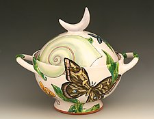 Moon Tureen by Farraday Newsome (Ceramic Serving Dish)