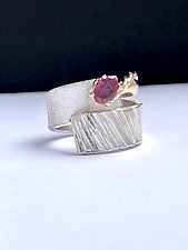 Ruby by Dagmara Costello (Gold, Silver, & Stone Ring)