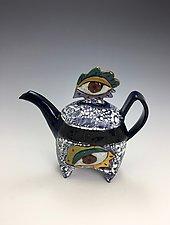 Eye Teapot by Lilia Venier (Ceramic Teapot)