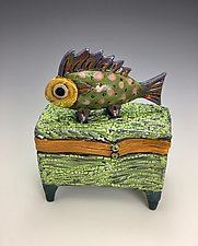 Lonely Boy III by Lilia Venier (Ceramic Box)