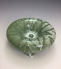 Green Indulgence by Lilia Venier (Ceramic Bowl)