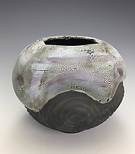 Half Moon by Lilia Venier (Ceramic Vase)
