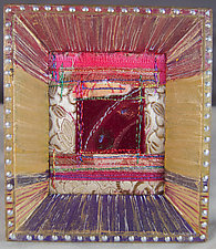 Little Window 43 by Natalya Aikens (Fiber Wall Hanging)