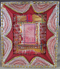 Little Window 44 by Natalya Aikens (Fiber Wall Hanging)