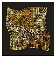 Artifacts Series # 16 by Tim Harding (Fiber Wall Hanging)