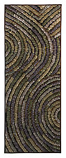 Pewter Swirl Banner by Tim Harding (Fiber Wall Hanging)
