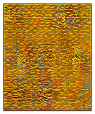 Shimmer no. 16 by Tim Harding (Fiber Wall Hanging)