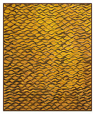 Shimmer no. 17, Water Series by Tim Harding (Fiber Wall Hanging)