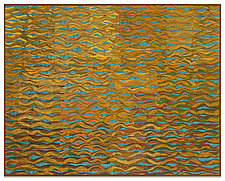 Shimmer 5 by Tim Harding (Fiber Wall Hanging)