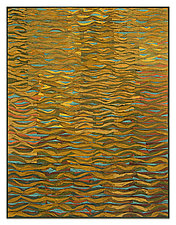 Shimmer no. 10 by Tim Harding (Fiber Wall Hanging)