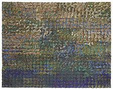 Verdigris Crush by Tim Harding (Fiber Wall Hanging)