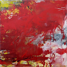 More Red by Robin Feld (Oil Painting)
