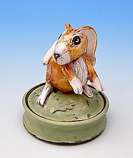 Rabbit jar by Amy Goldstein-Rice (Ceramic Box)