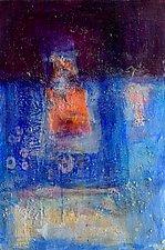 Orange Square by Amy Longcope (Acrylic Painting)