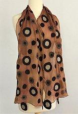 Candice Scarf by Elizabeth Rubidge  (Silk & Wool Scarf)