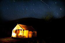 Tent by Lori Pond (Color Photograph)