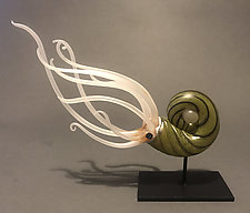 Algaenous by Jennifer Caldwell (Art Glass Sculpture)