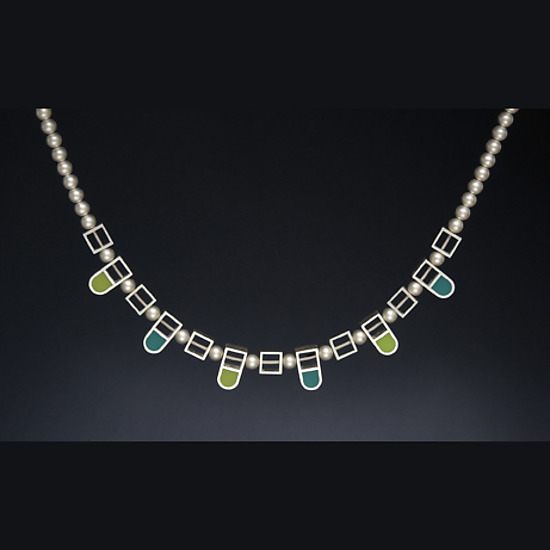 Arches and Squares Necklace