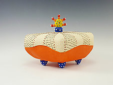 Surprise Pillow Box by Vaughan Nelson (Ceramic Box)