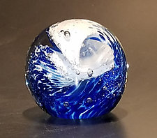 Great Wave by The Glass Forge (Art Glass Paperweight)