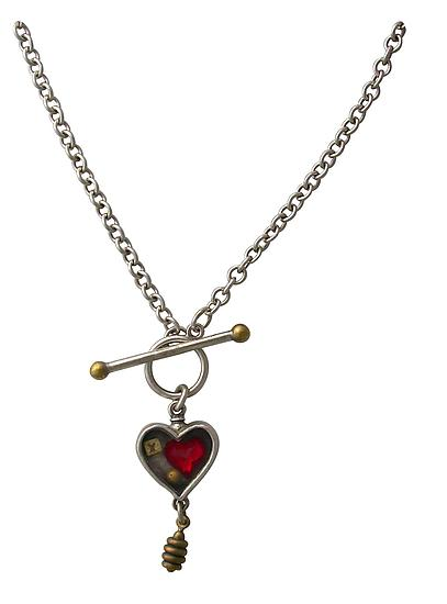 Heartbox Toggle Necklace