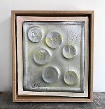 Ceramic Wall Circles by Louise Bilodeau (Ceramic Wall Sculpture)