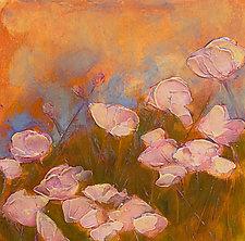 Pink Poppy Field by Denise Souza Finney (Acrylic Painting)