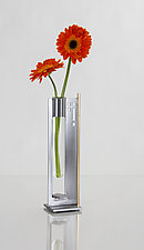 Finestra 2 by Ken Girardini and Julie Girardini (Metal Vase)