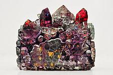 Light Reliquary by Mira Woodworth (Art Glass Sculpture)