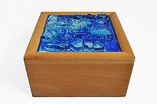 Jewelry Box by Mira Woodworth (Art Glass Jewelry Box)