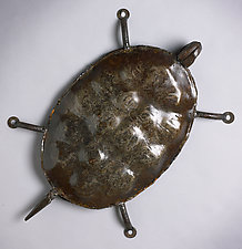 Wall Turtle by Ben Gatski and Kate Gatski (Metal Wall Sculpture)