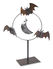 Bat Sculpture by Ben Gatski and Kate Gatski (Metal Sculpture)