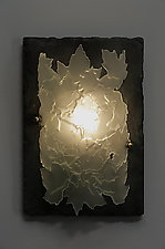 Leaflight by Rick Melby (Art Glass Sconce)