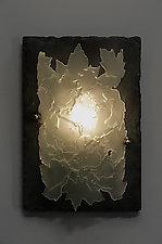 Leaflight by Rick Melby (Art Glass Sconce)