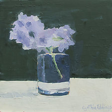 Farmers Market Lilac by Cynthia Eddings (Oil Painting)