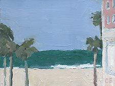 Casa del Mar Study by Cynthia Eddings (Oil Painting)