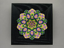 Spring Kaleidoscope by Joh Ricci (Fiber Wall Sculpture)