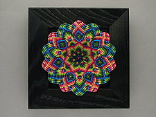 Summer Kaleidoscope by Joh Ricci (Fiber Wall Sculpture)