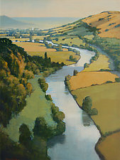 Wye Valley View by Allan Stephenson (Giclee Print)