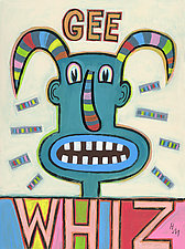 Gee Whiz by Hal Mayforth (Giclee Print)