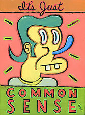 It's Just Common Sense by Hal Mayforth (Giclee Print)
