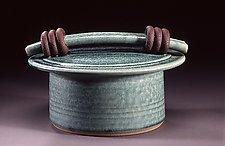 Small Storage Jar by Jan Schachter (Ceramic Jar)